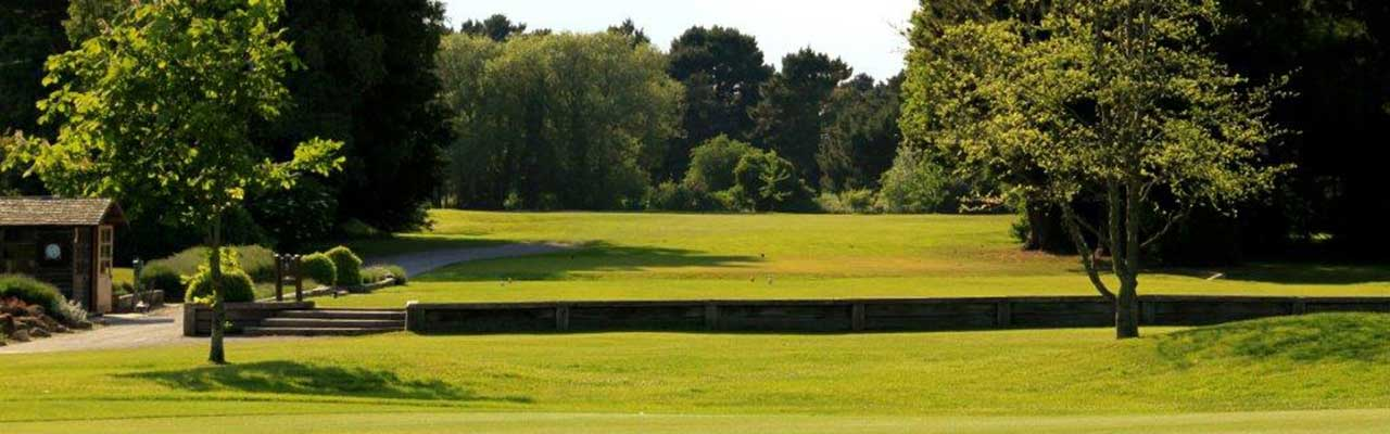Bognor Golf Course hole one