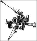 Bofors Anti Aircraft 40mm Gun